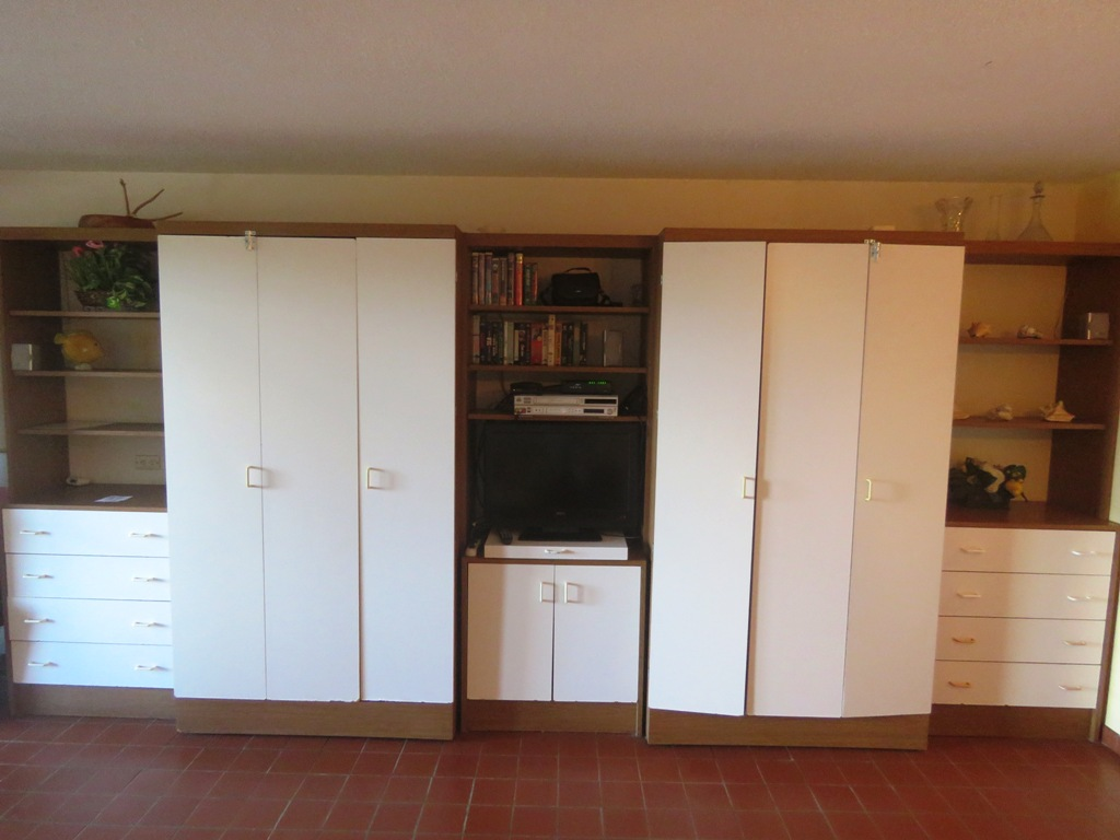 two Murphy Beds